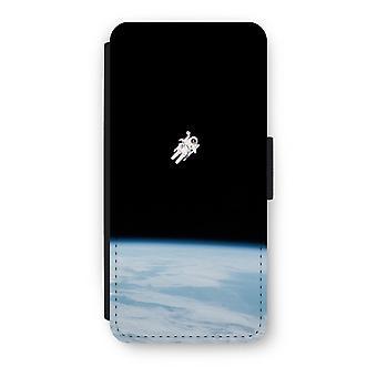 iPhone 5/5 s/SE Flip Case - allein im Raum