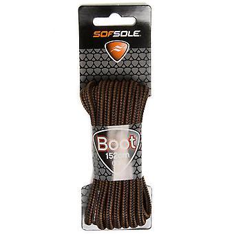 SOF Sole Cera Boot Laces - 152Cm Calzature Accessori Brown