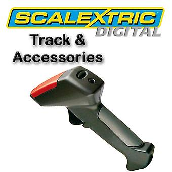 Scalextric Digital - mano Throttle w / 5 colore chip