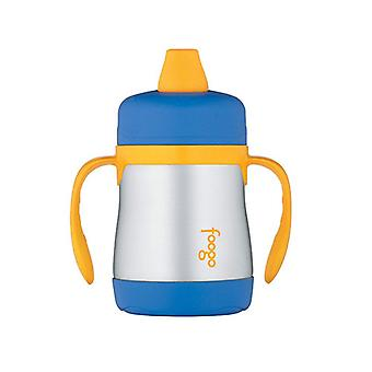 Thermos 200mL Foogo S/Steel Vac Insul zachte tuit Sippy beker