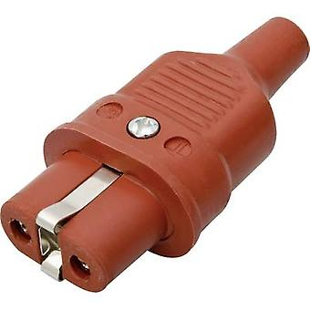 Kalthoff 344Si/25A Hot wire connector 344 Series (mains connectors) 344 Socket, straight Total number of pins: 2 + PE 16 A Red 1 pc(s)