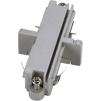 SLV 143092 High voltage mounting rail Connector 1-phase Silver-grey