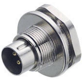 Raccoglitore 09-0407-00-03-1 Sub Miniature Circular Connector Series 712 Corrente nominale (dettagli): 4 A
