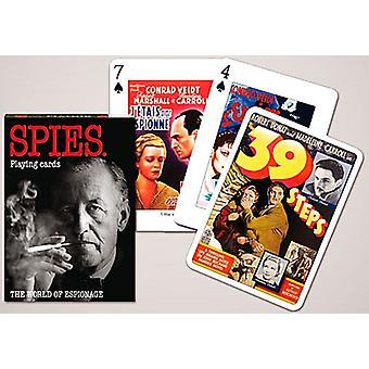 Spies joukko pelikortteja + Jokerit