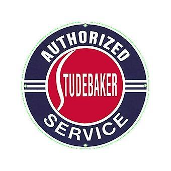 Serviço de Studebaker esmaltado ímã do refrigerador aço