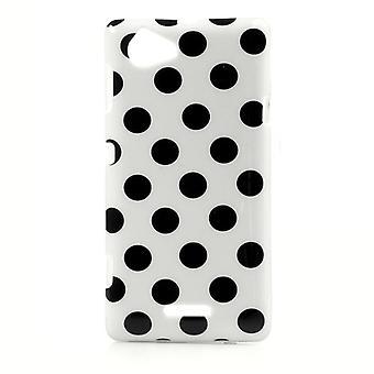 携帯電話ソニー Xperia L S36h 用保護ケース