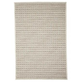 Outdoor carpet for Terrace / balcony beige natural white Skandi look Stuoia mink 194 / 290 cm carpet indoor / outdoor - for indoors and outdoors