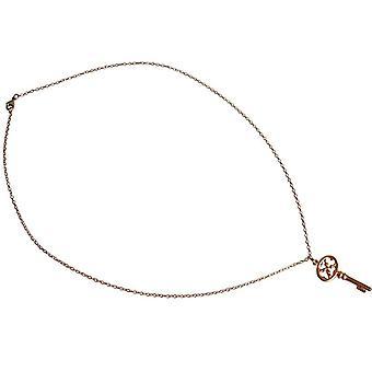 Schlüsselkette Schlüsselanhänger Schlüssel KEY Bronze Halskette vergoldet