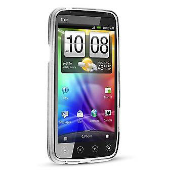 Technocel Slider Skin Case Cover HTC EVO 3D (Clear) - HTCEVO3DSSCL-Z