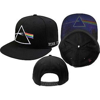 Pink Floyd Baseball Cap Dark Side of the Moon logo new Official Black Snapback
