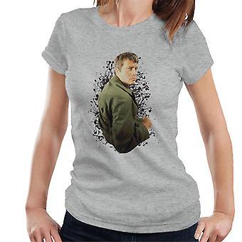 T-shirt do mulheres de Oliver Reed 1971 vezes TV