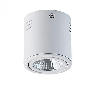 Techno hvidt loft lampe 1 lys
