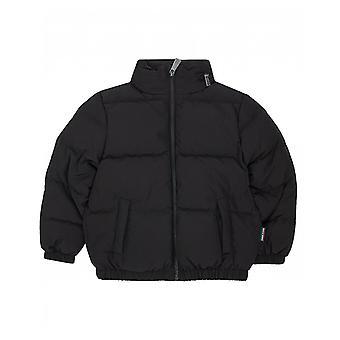 Moschino cappuccio Logo giacca posteriore a scomparsa