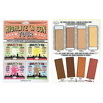 TheBalm Highlite N Con Tour Highlight & Contour Palette TheBalm Highlite N Con Tour Highlight & Contour Palette TheBalm Highlite N Con Tour Highlight & Contour Palette