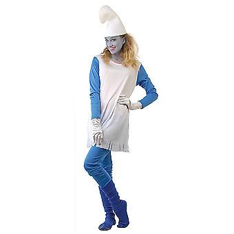 Vrouwen kostuums Smurfin kostuum
