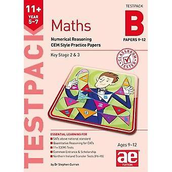 11 + أوراق الرياضيات السنة 5-7 تيستباك ب 9-12-ش جيم الاستدلال العددي