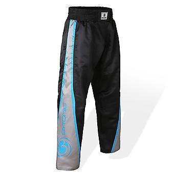 Los niños bytomic V3 equipo Kickboxing pantalones negro y gris