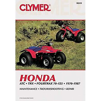 Honda ATC.TRX Fourtrax 70-125, 1970-87: Clymer Workshop Manual (Clymer All-Terrain Vehicles)