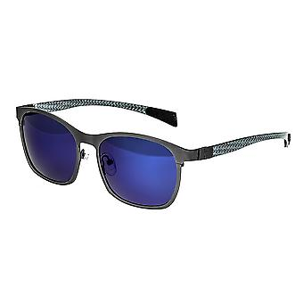 Breed Halley Titanium Polarized Sunglasses - Gunmetal/Blue