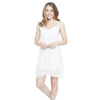 Cyberjammies 4143 vrouw Ella White Night Gown Lounge Pyama