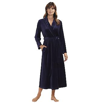 Rösch 1884164-11694 Women's New Romance Night Blue Dressing Gown