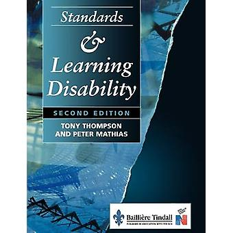 Standards and Learning Disability by Thompson & Kroonm