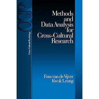 Metoder och dataanalys för CrossCultural forskning av Vijver & Fons J. R. Van De