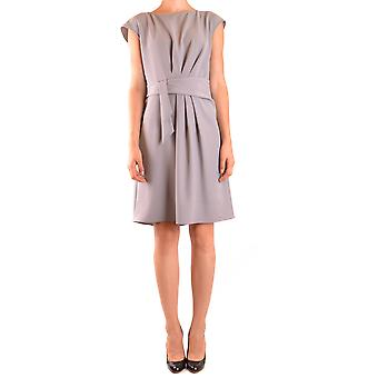 Armani Collezioni Ezbc049019 Women's Grey Polyester Dress