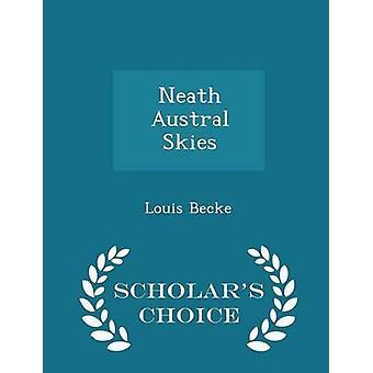 نيث سماء الجنوبي العلماء الطبعة اختيار طريق بيك & لويس