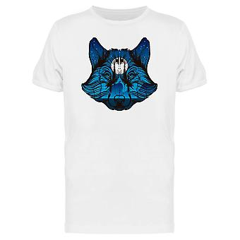 Night Forest Wolf Tee Men's -Image by Shutterstock