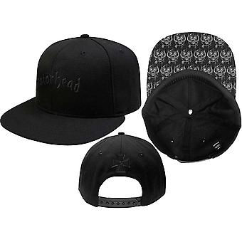 Motorhead Baseball Cap Band Logo Warpig brim new Official Black snapback