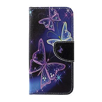 Samsung Galaxy S10 + billetera Case-Vivid Butterflies