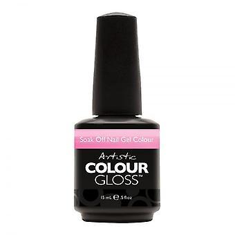 Artistic Colour Gloss Soak Off Gel Polish Primal Obsessions - Devil Wears Nada