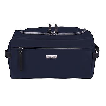 Cosmética de Bugatti neceser neceser bolso bolso azul 3831