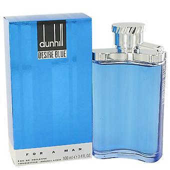 Desire Blue Eau De Toilette Spray By Alfred Dunhill   402724 100 ml