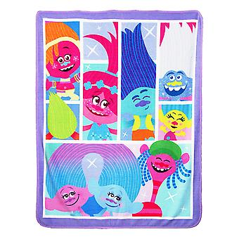 Super Soft Throws - Trolls - Dance Hall New 45x60