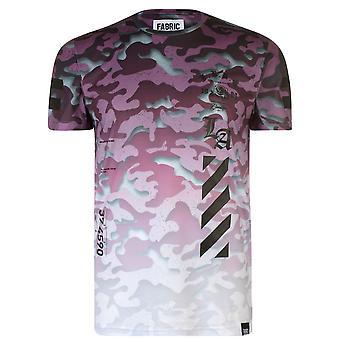 Fabric Mens Sublimination T Shirt T-Shirt Tee Top