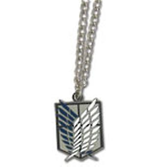 Necklace - Attack on Titan - New Scout Regiment Anime Licensed ge35638