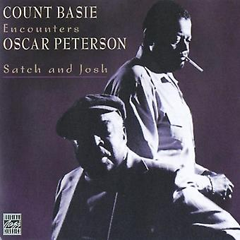Basie/Peterson - Satch & Josh-Count Basie Encou [CD] USA import
