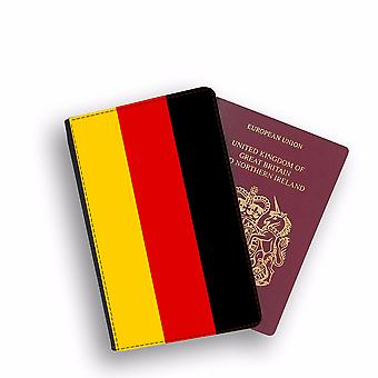 GERMANY Flag Passport Holder Style Case Cover Protective Wallet Flags design