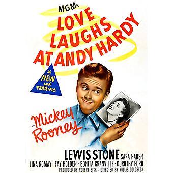Kärlek skrattar åt Andy Hardy [DVD] USA import