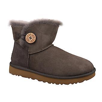 UGG ميني بيلي زر الثاني 1016422-MOLE المرأة الأحذية الشتوية