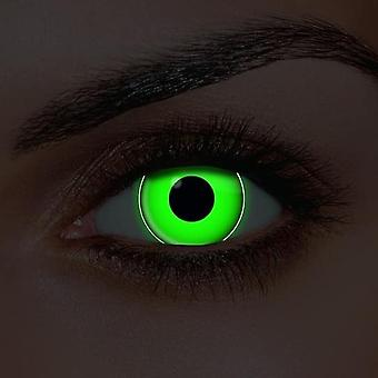 lentilles de contact UV i-Glow Green (Paire)