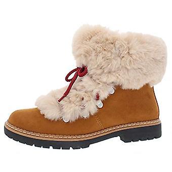 INC Womens Pravale Faux Fur Lace-Up Winter Boots