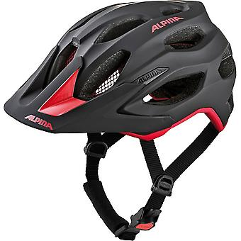 Alpina carapace 2.0 bike helmet / / black / red
