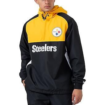 New Era BLOCK Windbreaker Jacket - Pittsburgh Steelers