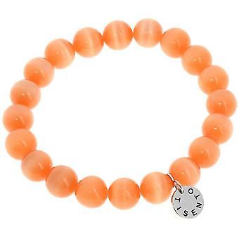 Cat-apos, s Eye orange armband 10 mm 2524OR