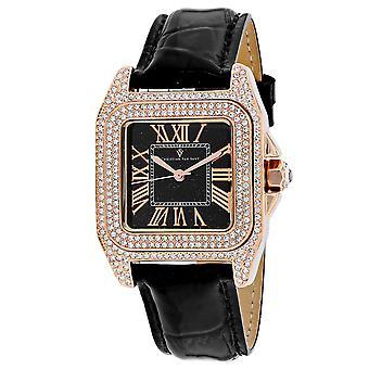 Christian Van Sant Women's Radieuse Black Dial Watch - CV4425