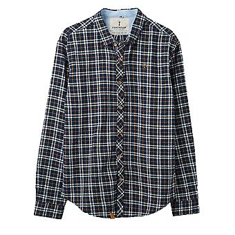 Lighthouse Tide Mens Shirt Eclipse Check