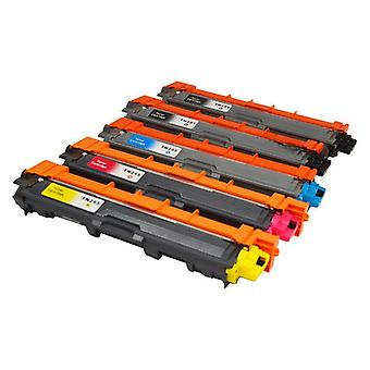 TN-251 TN-255 Premium Generic Toner Set of 5